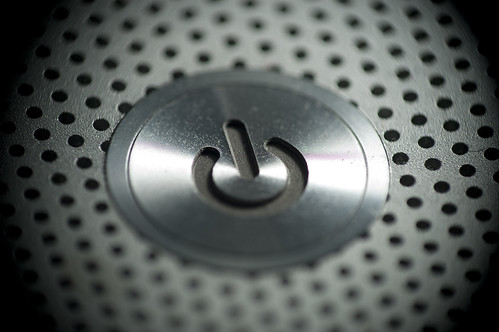 Macbook Pro Power Button - Macro