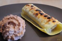 Cannelloni banane et mousse Nutella.. (Bizzi House) Tags: cooking dessert cuisine nikon creme nutella banane pate chocolat mousse noisette cannelloni caramelisee
