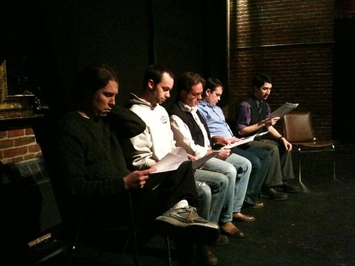 Staged Reading, February 21st, 2011