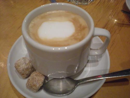 Cafe Con Leche at Mas Tapas