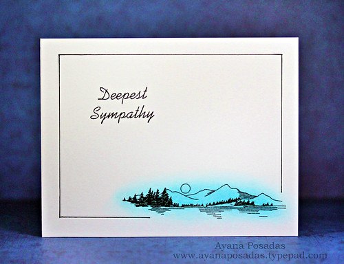 Mountain Vista- Deepest Sympathy