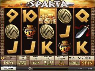 Sparta slot game online review
