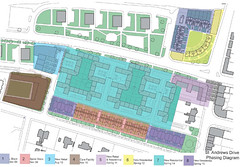 Proposed Site Plan with Phasing