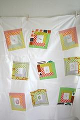 Quilt Top with Megumi Sakakibara fabric