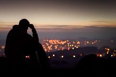 bokeh view (Meyer Felix) Tags: light night 50mm evening abend view nacht olympus pentacon f18 ausblick lichter sicht annaberg buchholz annabergbuchholz e620