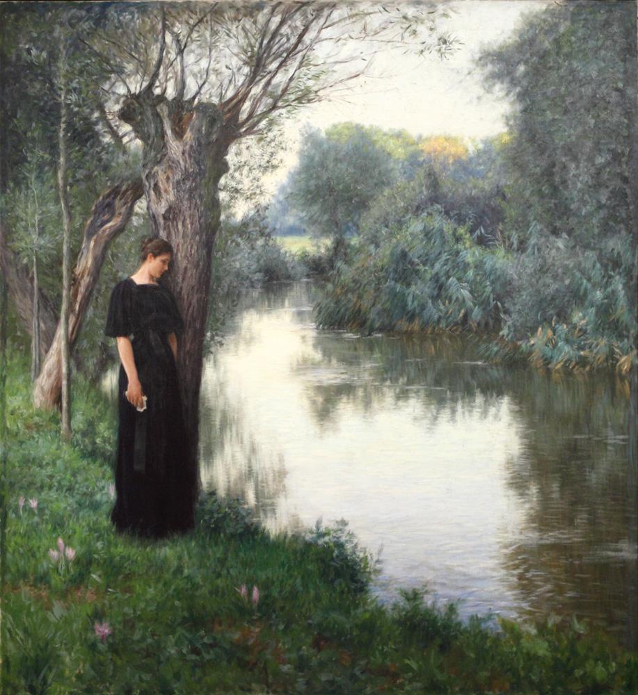 Wilhelm Bernatzik, Zasněná [Bemused], 1898