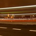 Waterloo Bridge light trails