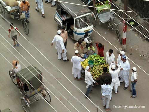 Lively Streets of Varanasi, India