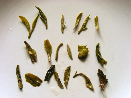 3 teas sold as long jing