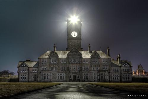 In the searchlight @ Admin building - Asylum HR - explored <a href=