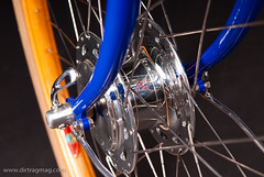 Dirt Rag pics of Horton Bike from NAHBS (bishopbikes) Tags: wood columbus bike project town phil steel bikes brett horton bishop lugs interbike2010justin nahbs2011