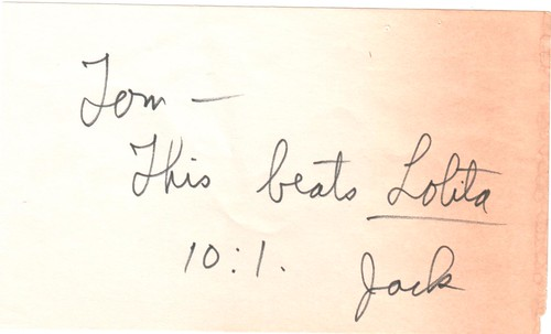 Note I found in a used copy of Flash for Freedom!