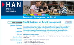 Website Small Business en Retail Management (HAN)