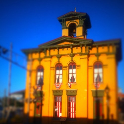 Old Train Station in Gettysburg, Pa. with #tiltshift effects. by ObieVIP