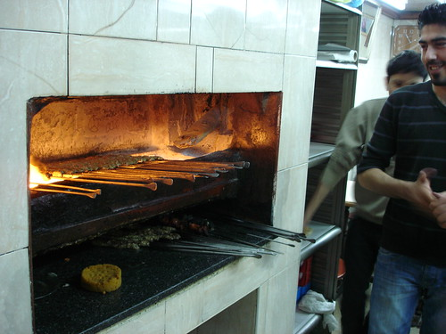 palestinians making kabobs in jerusalem