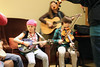 Young fans and musicians live jamming at 2011 Wintergrass Festival | © Bellevue.com