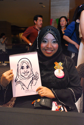 Caricature live sketching for Swire Pacific Offshore & The China Navigation Company Pte Ltd Annual D&D - 5