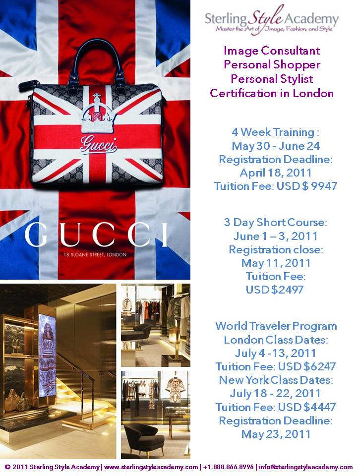 London Image Consultant Training Sterling Style Academy