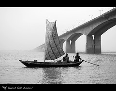 Ganga, Gandhi and Ghat. (my second last dream!) Tags: people bw india art water river photography boat blackwhite streetphotography streetcorner ganga ganges ghat bihar patna outdoorshots sudhir peoplephotography incredibleindia msld matchpointwinner sudhirkumar mysecondlastdream