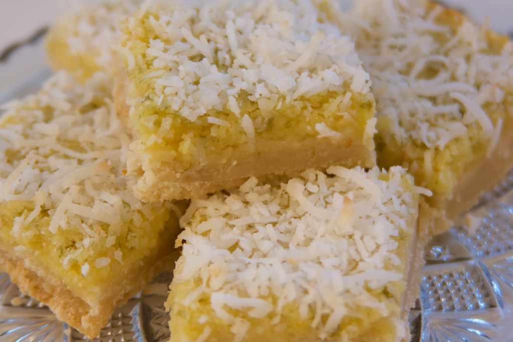 The Sugartarian: Coconut Lemon Lime Bars