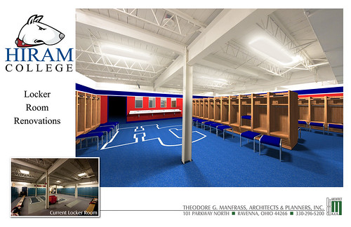 Locker Room Rendering