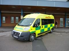 Private Ambulance (barronr) Tags: england fiat yorkshire ambulance harrogatedistricthospital privateambulance
