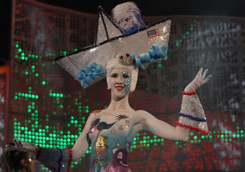 Concurso de maquillaje corporal Carnaval 2011 de Las Palmas de Gran Canaria