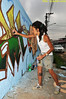 "Vila Cisper - São Paulo - Brasil Grafiteira: LAMAH ""Sopa"