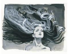 Jordi Labanda - Twiggy, hair by Ara Gallant