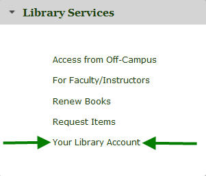 Your Library Account