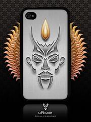 Phone Artworks [Devil iPhone 4 Case] (alphadesigner) Tags: art creativity graphicdesign artwork creative case speck lfi alphadesigner iphone4 flickrarchive