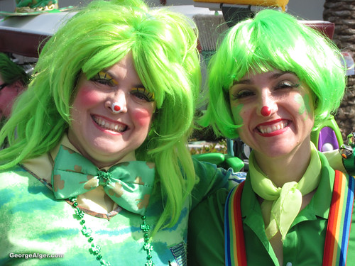 St. Patrick's Day Girls