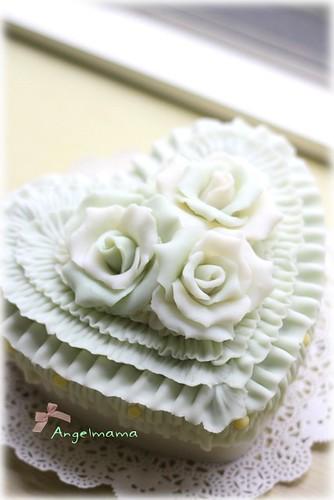 天使媽媽的蛋糕皂教學 009