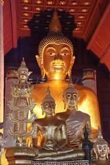 Wat Phra That Chae Haeng, Nan, Thailand (Sekitar) Tags: light sculpture that thailand temple gold buddha buddhist wat nan phra chae sekitar haeng