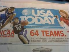 USA Today cover with Talor Battle (wfyurasko) Tags: pennstate usatoday psu nittanylions usat taylorswift talorbattle pennstatebasketball ncaamensbaskebtalltournament