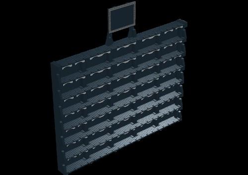 Custom minifig LDDS minifigure display case