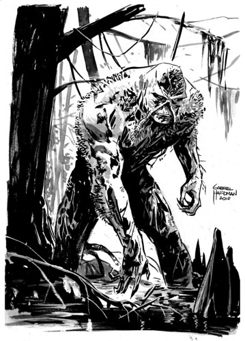 Swamp Thing by Gabriel Hardman