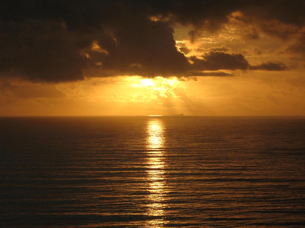 Ship at Sunrise 1