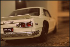 The First Generation (tamahaji) Tags: skyline vintage nissan 1st first retro generation 118 diecast kyosho kpgc10 hakosuka kpgc