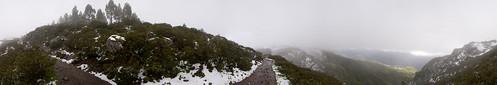Nieve en La Degollada de Las Palomas, Valleseco. Isla de Gran Canaria