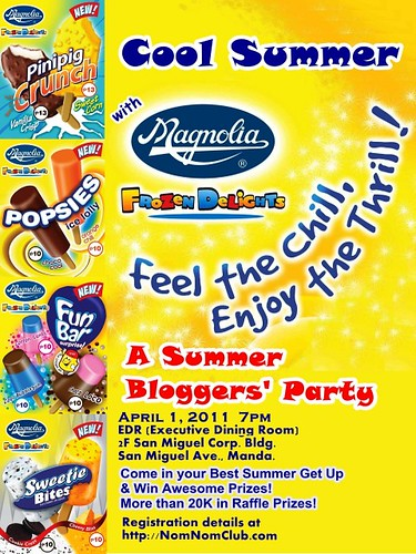 Magnolia Frozen Delights Summer Bloggers' Party