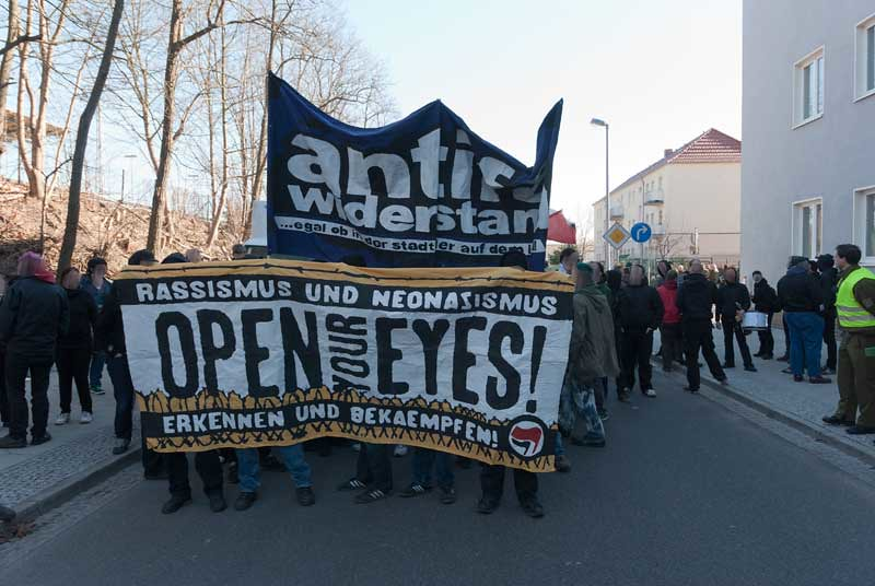 Demo in Oranienburg 2011