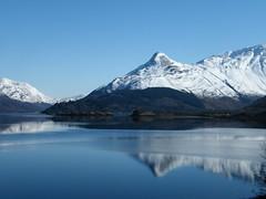 Reflection (DMeadows) Tags: mountain lake snow reflection landscape island mirror scotland highlands hill reflect glencoe loch peaks leven ballachulish lochleven davidmeadows dmeadows yahoo:yourpictures=winter yahoo:yourpictures=waterv2 yahoo:yourpictures=winterv2 yahoo:yourpictures=reflectionsv2