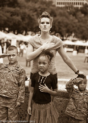 PATRIOTISM OR MILITARISM? YOU DECIDE (Marquisa -) Tags: family portrait monochrome sepia mono interestingness nikon texas military houston explore patriotism militarism explored d700 svetlanavasiliadi russiantexas svetanphotography exploredmar22201126
