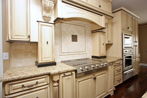 Distressed Cabinets Kitchen : Blue cabinets with glaze cost to paint and  kitchen