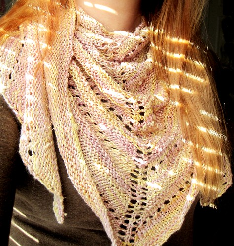 La La's Simple Shawl