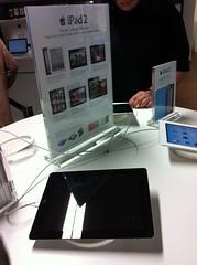 mStore Bochum: Das Apple iPad2 (zum Ausprobieren)