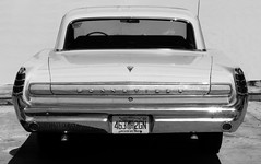 1963 Bonneville Coupe (Burnt Umber) Tags: auto urban white car automobile muscle wheels detroit headlights explore bumper chrome american second pontiac mopar generation bonneville ue 1963 coup urbex 2door allrightsreserved flurbex rpilla001 63synchromeshtransmission