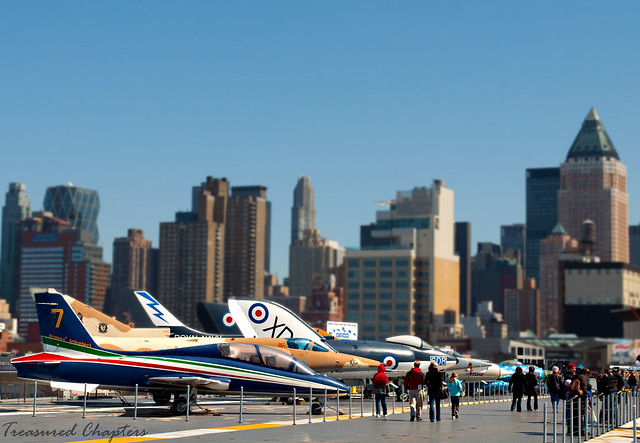 15 - Planes with skyline backdrop