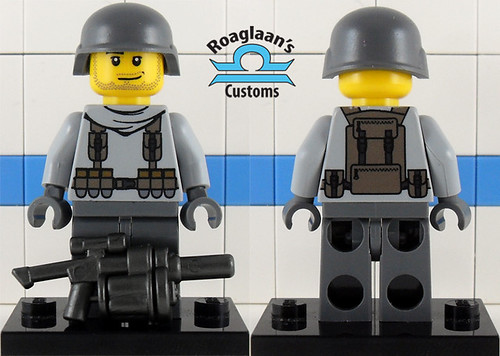 Custom minifig modern soldier custom minifig